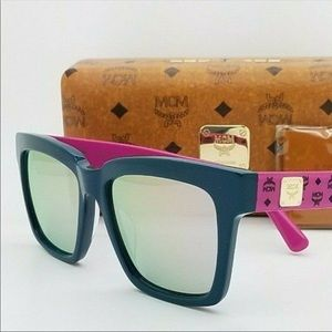 Womens MCM Rectangle Sunglasses